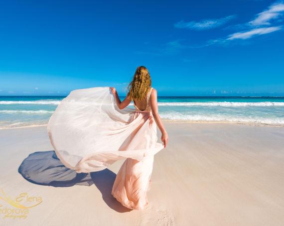 Фотосъемка на пляже в Тулум