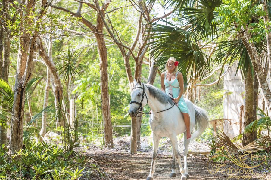 фотосессия на лошади