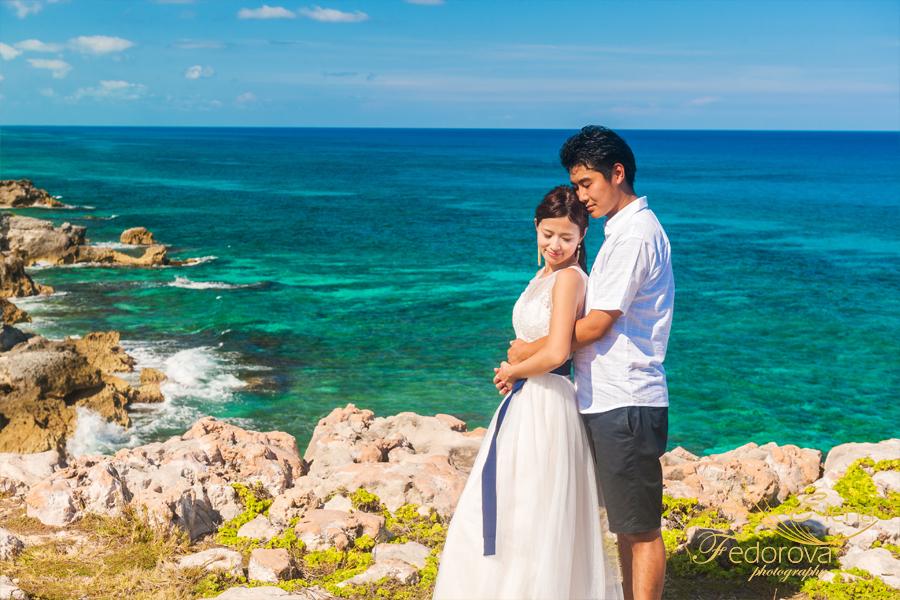 фотосессия на острове в мексике