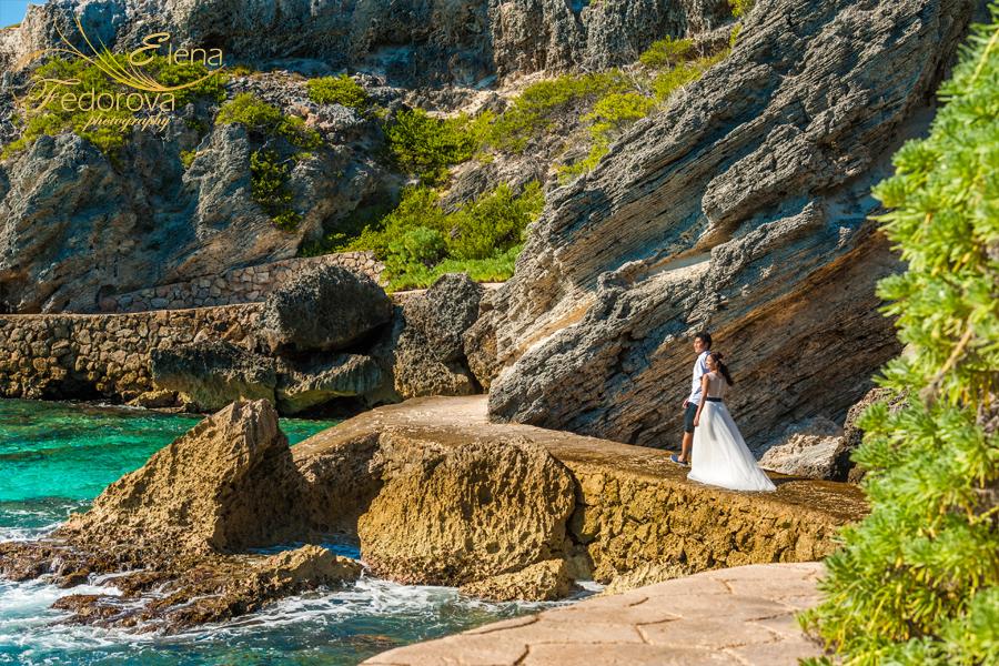 красивая фотосессия на острове