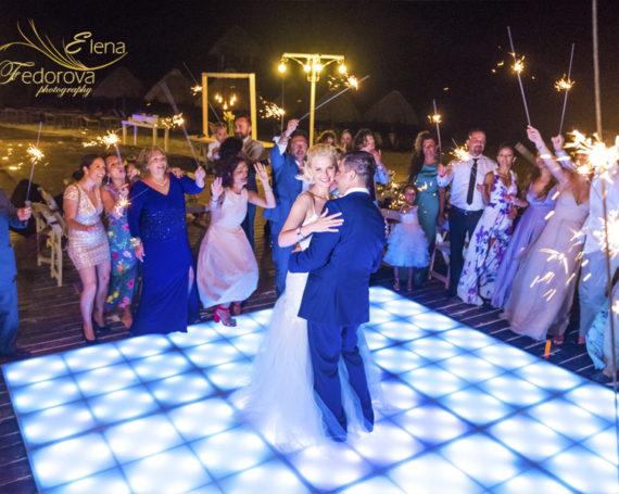 Свадьба в Мексике в отеле Dreams Riviera Cancun