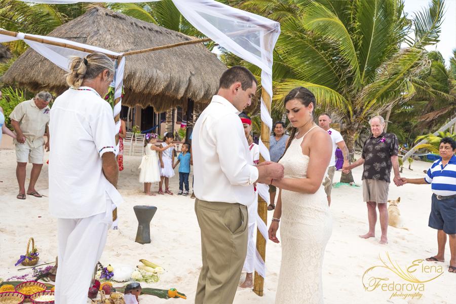 майянская свадбная цереомния канкун