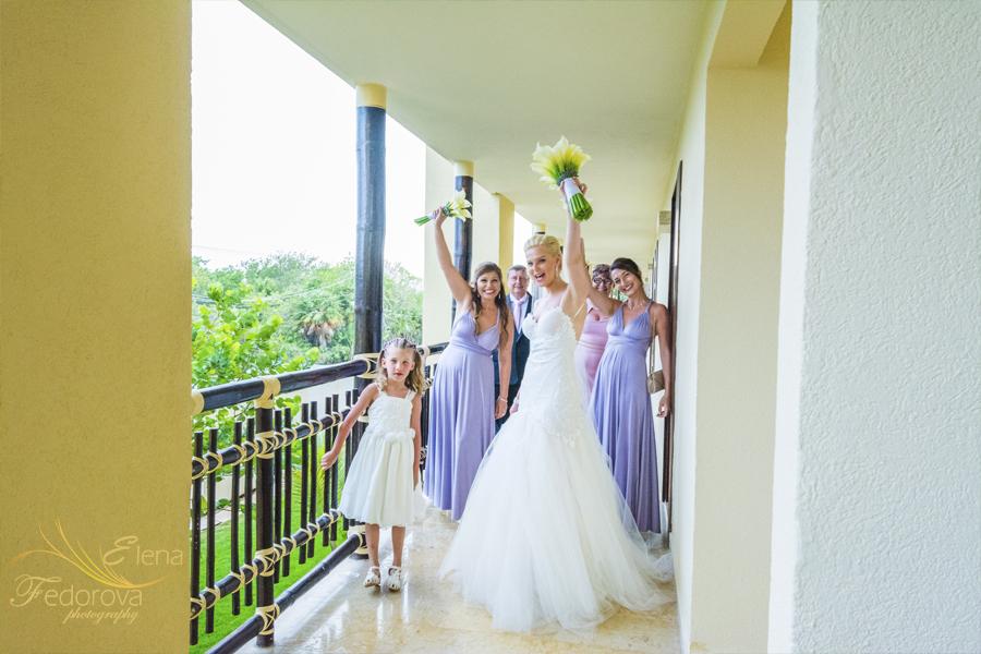 невеста и ее подруги