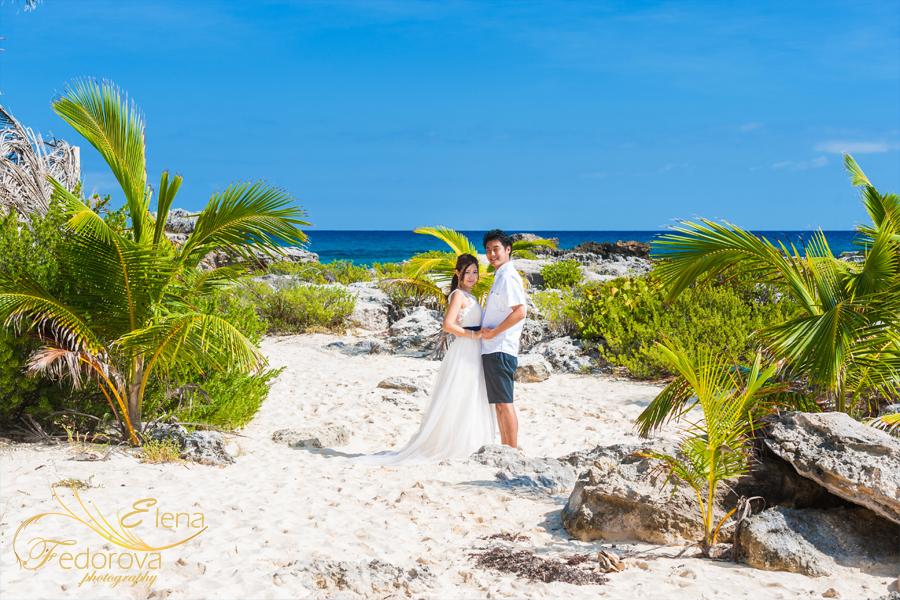 пляжная фотосессия в мексика
