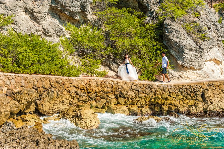 пляжная фотосессия мексика острво женщин