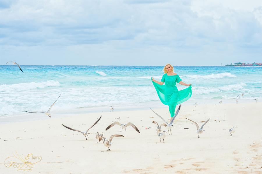 пляжная фотосессия мексика
