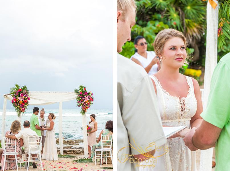 свадьба акумаль мексика