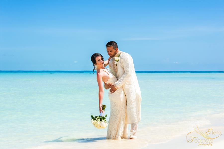 свадьба карибы мексика остров