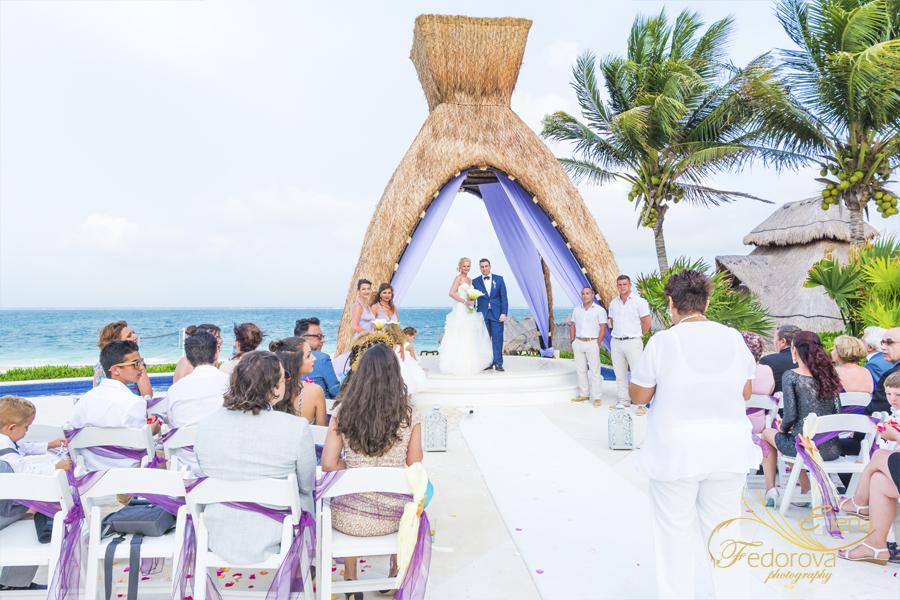 свадьба на курорте мексика
