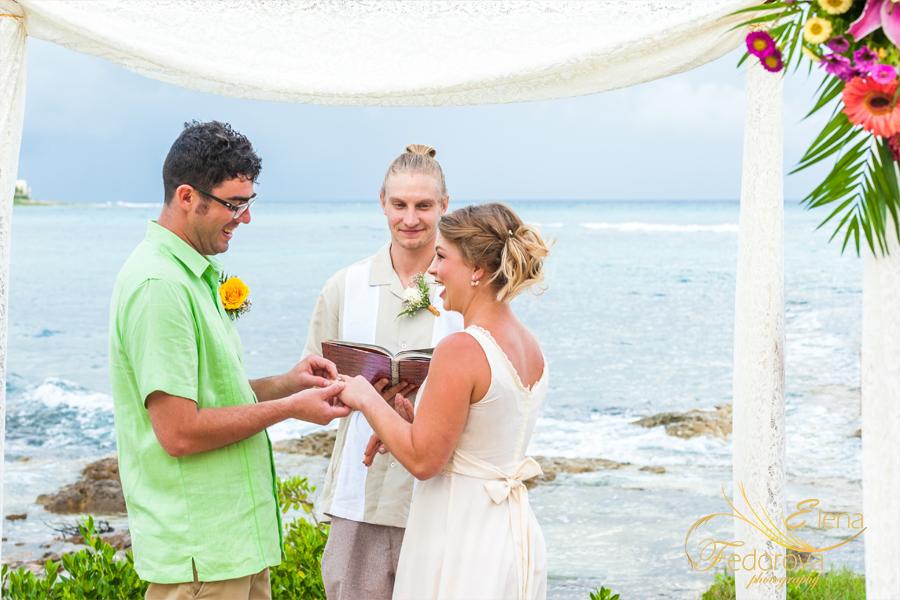 свадьба на море акумаль