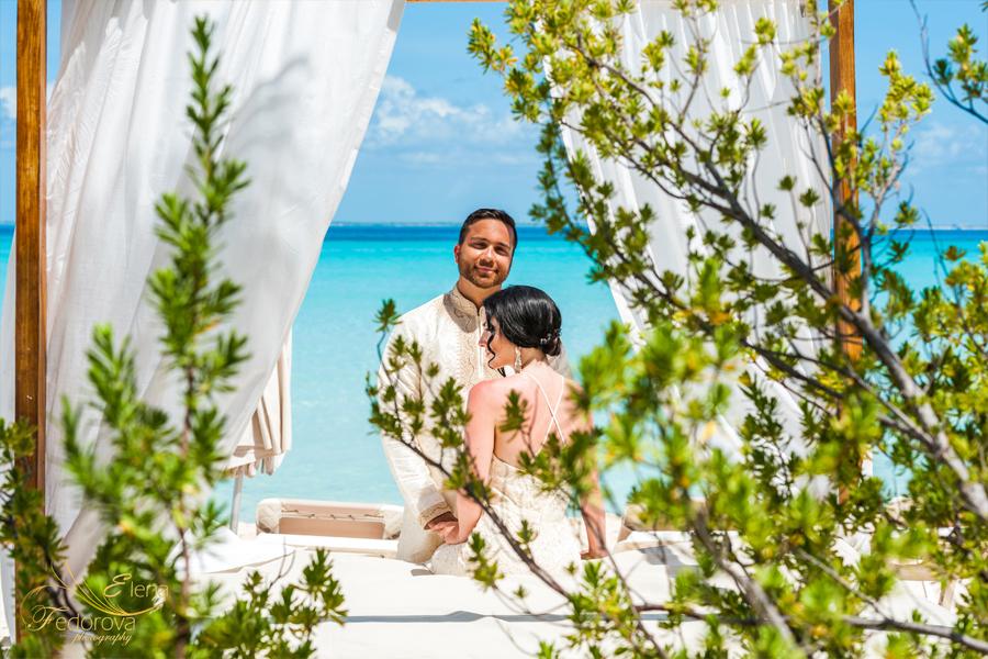свадьба на острове мексика