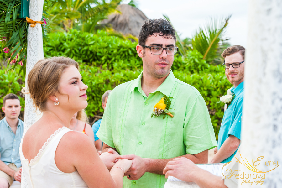 свадьба на вилле акумаль мексика