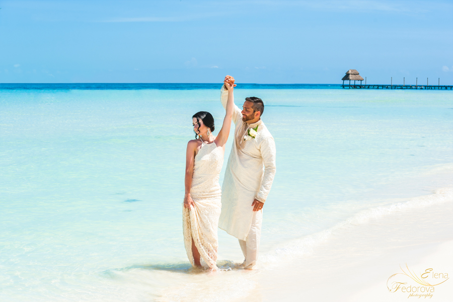 свадьба в мексике на острвое