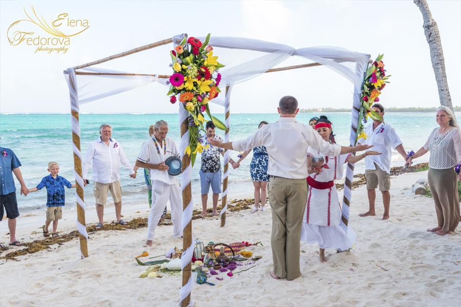 свадебная духовная церемония в мексике канкун