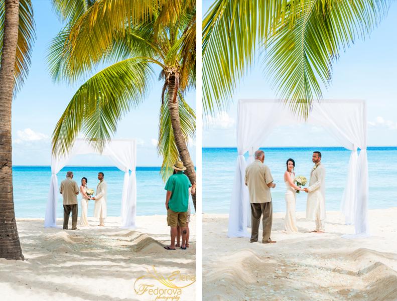 свадебная церемония пляж остров