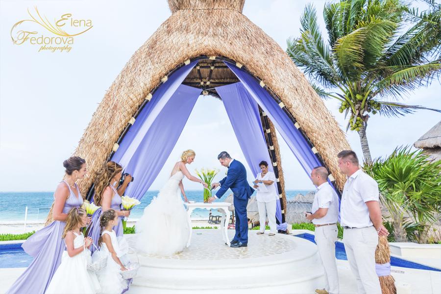 свадбная церемония в мексике