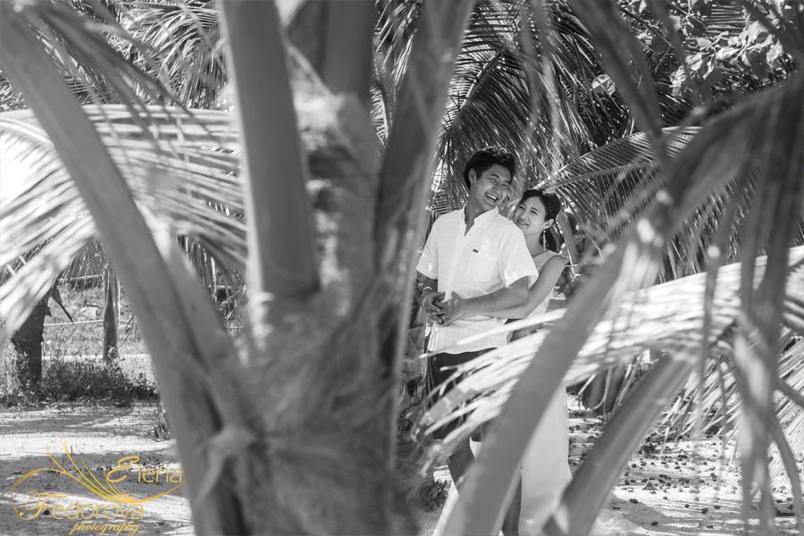 черно белая фотосессия в мексике