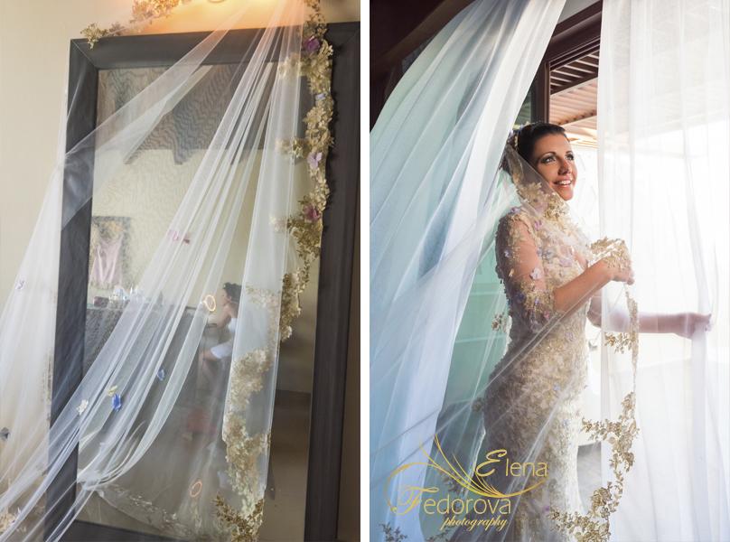 фото невесты в мексике канкун