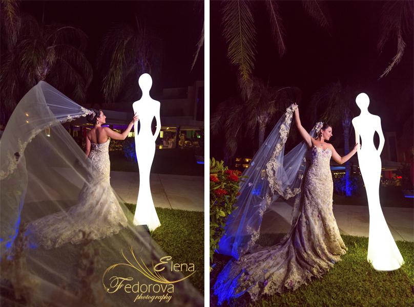 красивое фото невеста в мексике