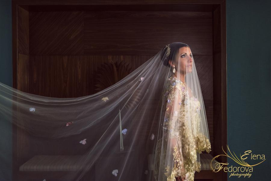 красивый портрет невесты