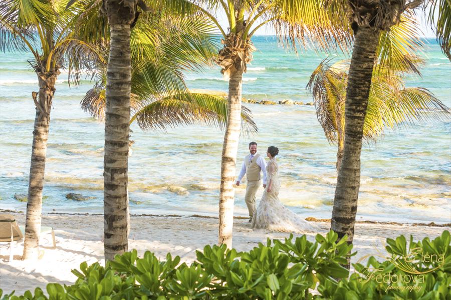 пляж фото пара мексика