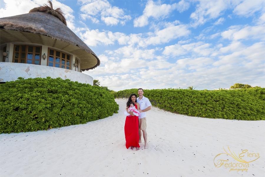 семейная фотосъемка пляж
