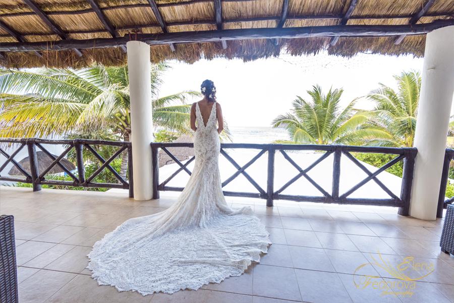 свадьба на вилле в мексике балкон