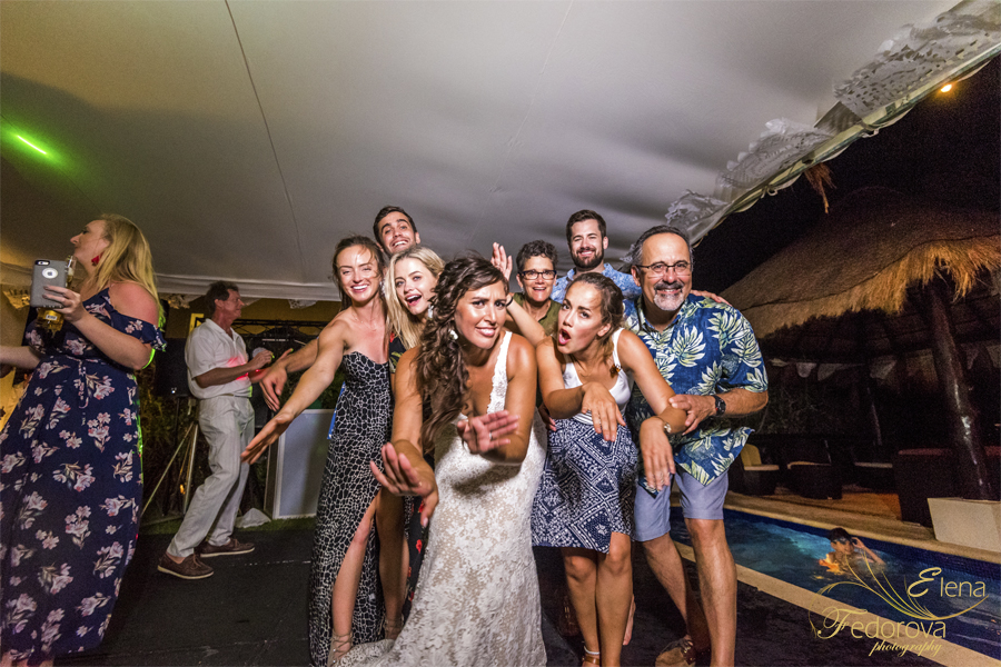 свадьба на вилле в мексике гости