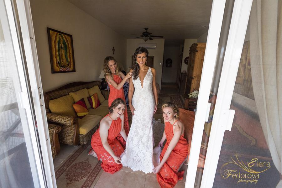 свадьба на вилле в мексике невеста