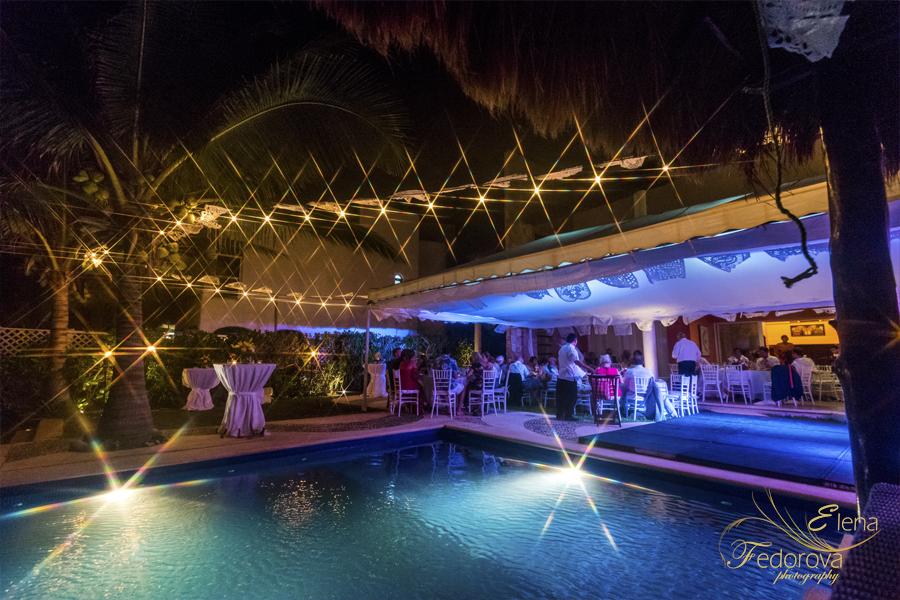 свадьба на вилле в мексике праздник