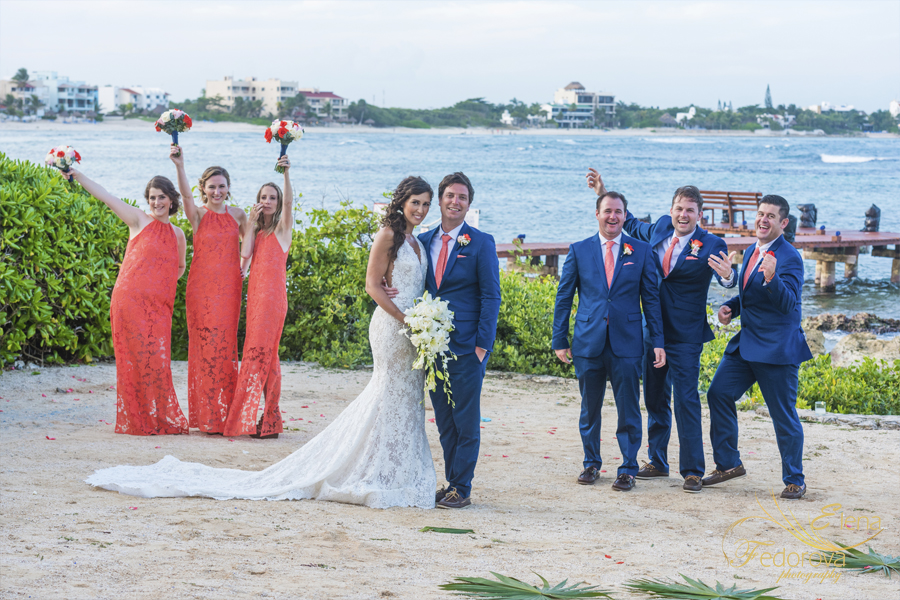 свадьба на вилле в мексике веселое фото