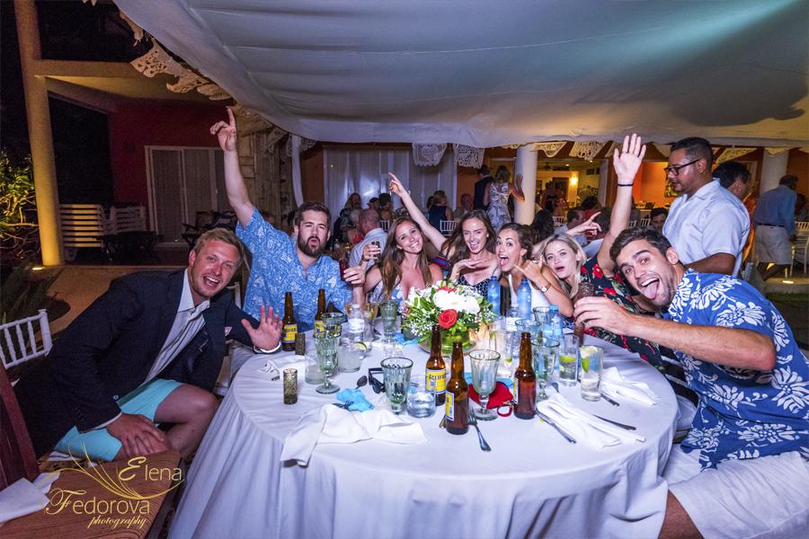 свадьба на вилле в мексике вечеринка