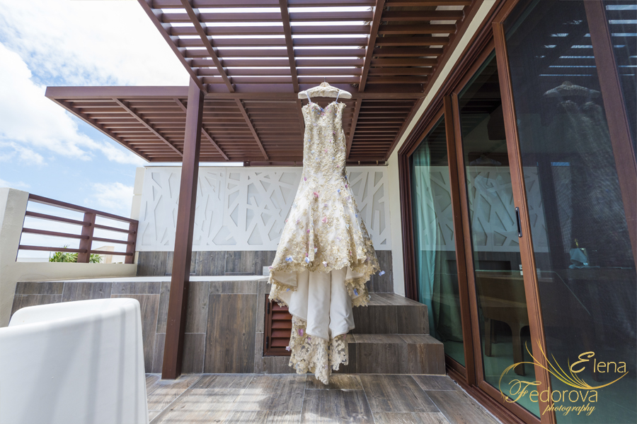 свадьба в мексике на курорте платье