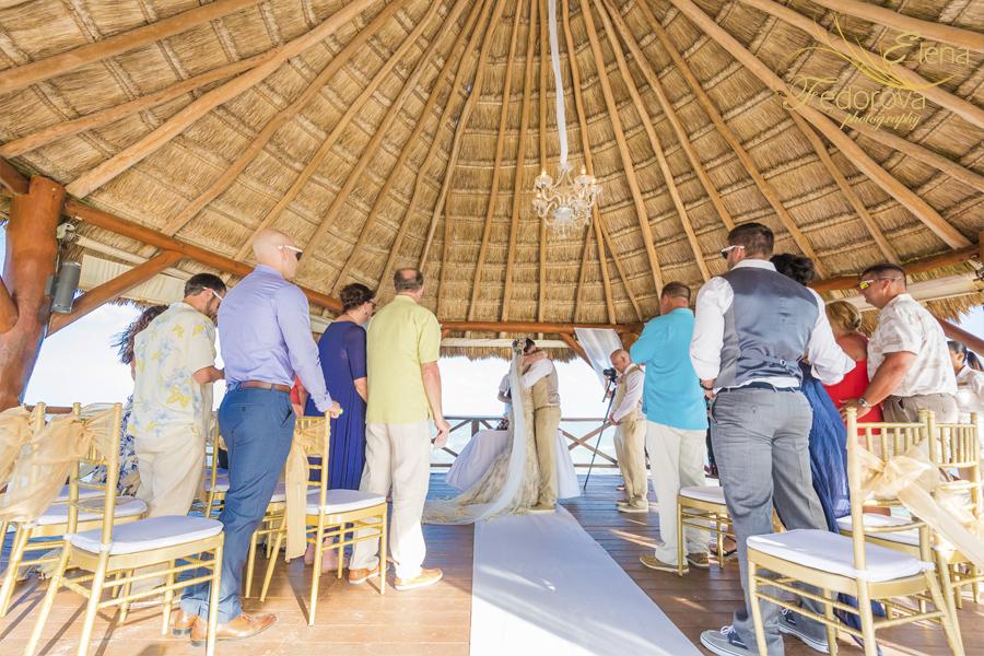 свадьба в мексике на курорте ривьера майя