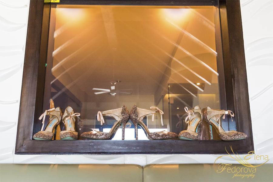 свадьба в мексике на курорте туфли