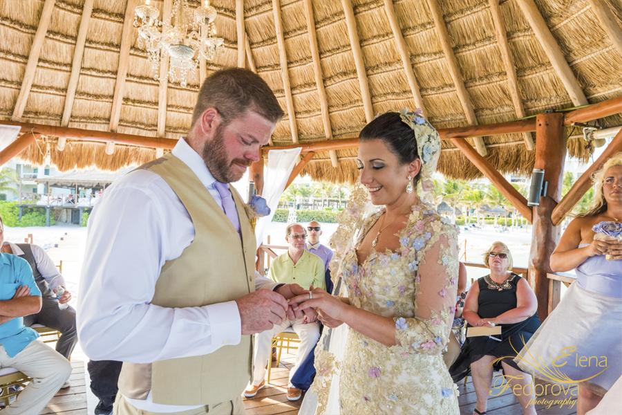 свадебная церемония в мексике курорт сильверсэнд