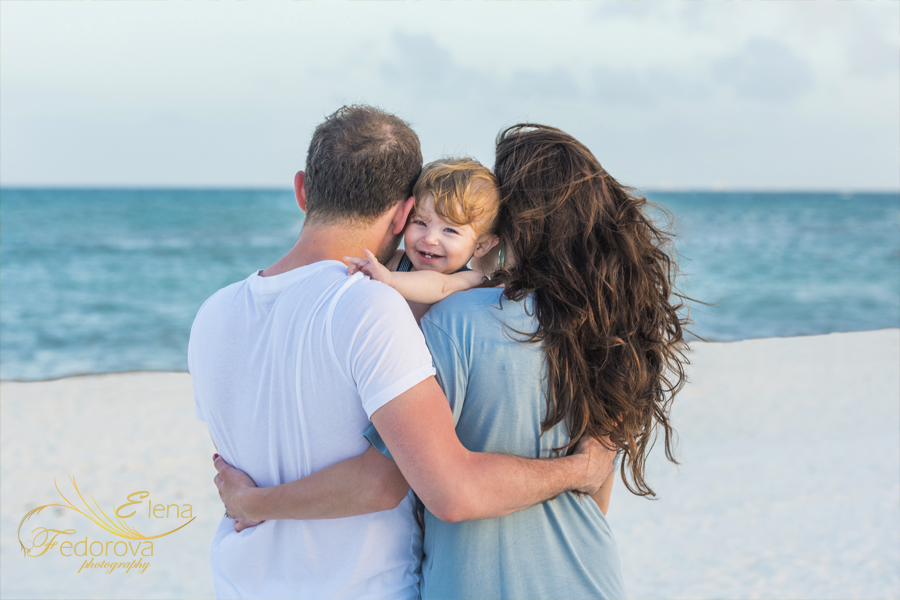 фотосьемка семейная на пляже