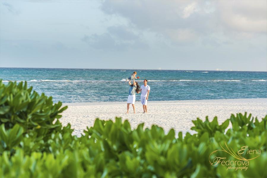пляж фотосьемка семейная