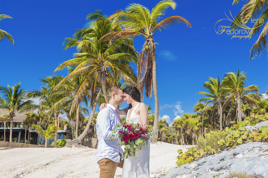 свадебная церемония тулум