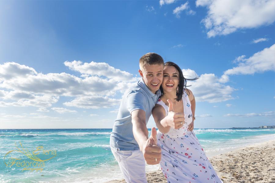 фотограф в канкуне пляж