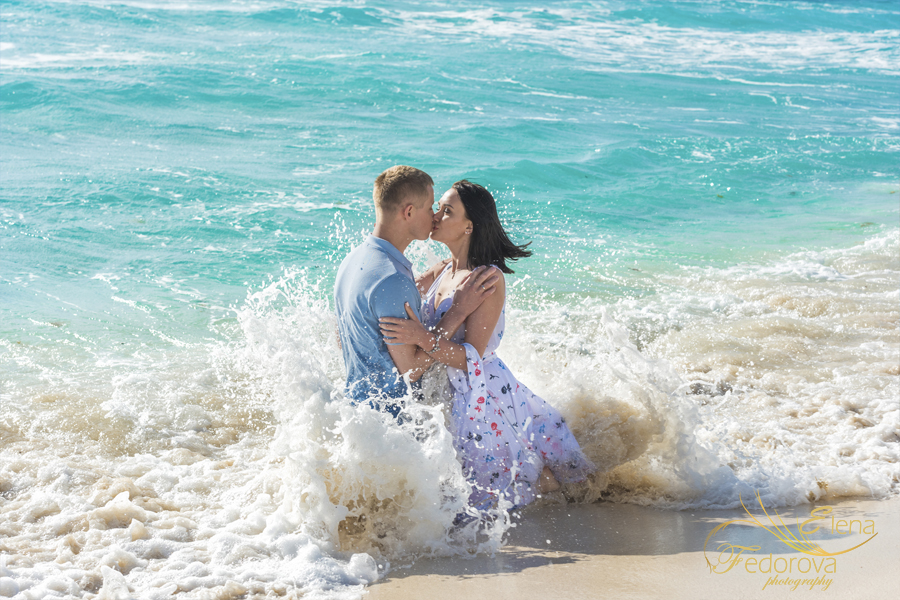 фотосъемка в воде пляж