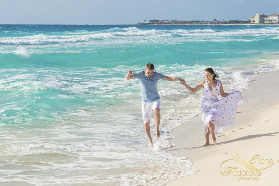 веселые пляжные фотографии в канкуне